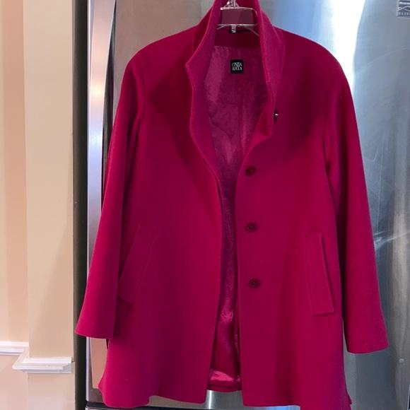 Cinzia Rocca Jackets & Blazers - Cinzia Rocca pink wool coat size 10 preowned